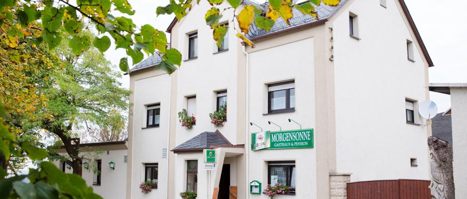 Gasthaus und Pension Morgensonne Jahnsdorf / Erzgebirge